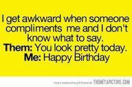 Hahahah, Awkward...