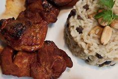 kotopoulo me melik paprika pilafi me amygdala k stafides Tandoori Chicken, Allrecipes, Chicken Recipes, Cooking Recipes, Meat, Ethnic Recipes, Foods, Wine, Glasses