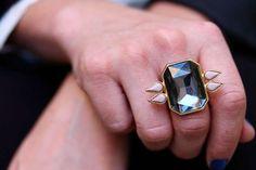 Ebony Engagement Rings : Black Gold Rings