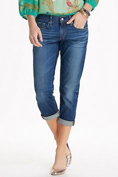 AG Piper Crop Jeans #anthropologie