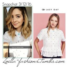 """""""snapchat"""" by zoella-fashionx ❤ liked on Polyvore featuring Lazy Oaf"""
