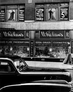 Storefront Window, New York (silver gelatin, 1943) – Brett Weston (American, 1911–93)