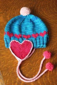 Cute idea. Kids knit cap.