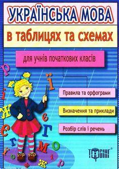 b_304_Ukr_mova_po4_kl_tabl-1 Ukrainian Language, Digital Magazine, Author, Classroom, Teaching, Education, Words, Children, Ukraine