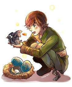 Adorable ...  How to train your dragon, toothless, hiccup, night fury, dragon, viking, egg