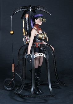 People's choice winner at the World of Wearable Arts Award 2011.