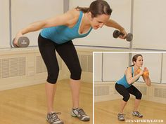 Each of these exercises works multiple muscle groups for an efficient total-body routine, with some extra emphasis on the upper thighs, an area some p...