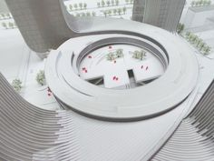 Fangda Business Headquarters Winning Proposal by Huasen Architects (HSA) - Shenzhen, China
