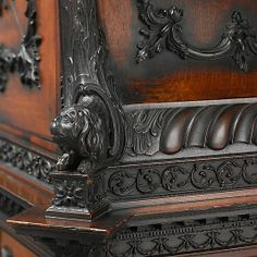 Detail Mahogany Medal cabinet Attributed to William Vile (British, Somerset 1700/1705–1767 London)