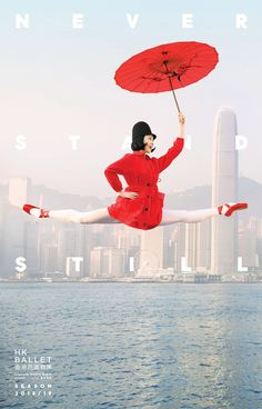 Never Stand Still: Hong Kong Ballet Campaign by Design Army – Inspiration Grid | Design Inspiration #advertising #campaign #photo #photography #ballet #graphicdesign #hongkong #inspirationgrid