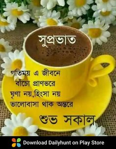Good Morning Beautiful Gif, Good Morning Tea, Free Good Morning Images, Good Morning Photos, Good Morning Messages, Good Morning Wishes, Morning Greetings Quotes, Morning Quotes, Bangla Quotes