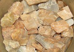 Identifying Raw And Rough Gemstones | Rough Moonstone