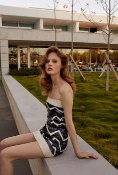 Steffi Soede | Harper's Bazaar Rússia Dezembro 2016 | Editoriais - Revistas de Moda
