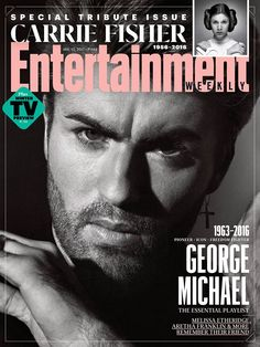 Entertainment Weekly pays tribute to two artists lost unexpectedly at shockingly young ages: author and 'Star Wars' actress Carrie Fisher and singer/songwriter George Michael. George Michael Dead, George Michel, Plus Tv, Michael Love, Actrices Hollywood, Aretha Franklin, Carrie Fisher, Entertainment Weekly, People Magazine