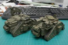152nd Tank Brigade. Scratch Building Log. - Page 3