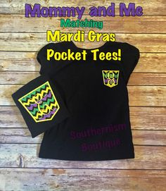 Mardi Gras Shirt Personalized Mardi Gras by Southernismboutique