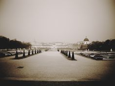 Viena. Jardines del Belvedere