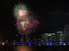 4th july fireworks tampa channelside