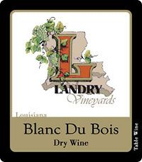 Landry Vineyards - A fantastic vineyard in North Louisiana! You must try their blackberry and blueberry merlot!