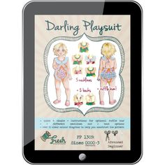 Darling Playsuit PDF Pattern