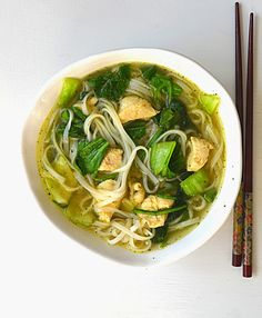 Sew French: Asian Noodle Soup (Sub coconut aminos for soy sauce)
