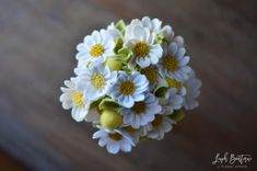 Daisy & Billy Ball Bouquet / Handmade Felt by LeaphBoutique