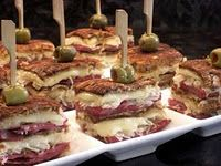 Party reubens. One of dozens of fancy fancy appetizers on this page.