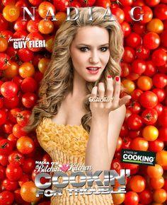 Nadia G van Bitchen' Kitchen: een webchef met een fantastische comedy cooking show.