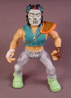 Tmnt Casey Jones Action Figure, 1989 Playmates, Teenage Mutant Ninja Turtles