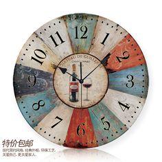 Wall Paris Wine clock