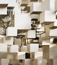 Les cubes de Sou Fujimoto à Paris cube fujimoto paris