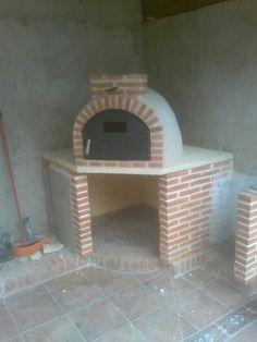 Nuevo montaje de uno de nuestros hornos de barro de Pereruela realizado en Logroño (la Rioja).