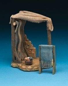 """Weaving Stand for Fontanini 5"""" Collection"""
