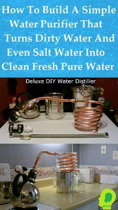 We don't have a water problem. We have a salt problem!
