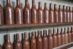 Antiques Atlas - Antique Victorian Stoneware Bottles. 11 Available