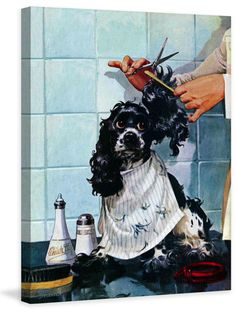 66 best dogs art images on pinterest painting prints canvas art butchs haircut solutioingenieria Gallery