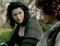 """Claire (Caitriona Balfe) and Jamie (Sam Heughan) in Episode 106 """"The Garrison Commander"""" from Outlander on Starz 