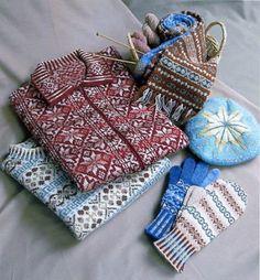 Japanese - Fair Isle Knitting