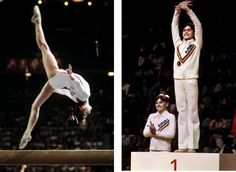 Nadia Comaneci's perfect 10 @Montreal Olympic Games 1976:    Part 1…