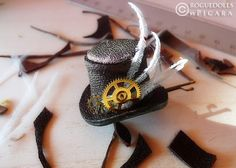 Steampunk tiny hat