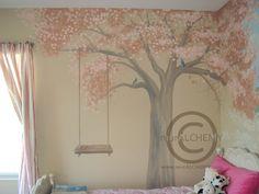 cherry blossom mural - Mural Idea in San Diego CA