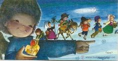 2082G - FERRÁNDIZ Nº 1447 - PRECIOSA TARJETA 9,5X5 CM APROXIMADAMENTE (Postales - Dibujos y Caricaturas)