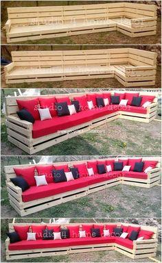 120 Ideas De Sofa Palets Muebles Con Tarimas Muebles De Palés Muebles Con Palets