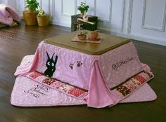 you don't know yet but you need a kotatsu!