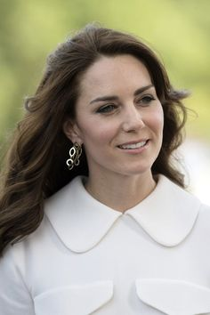 Duchess of Cambridge in India - hair pictures