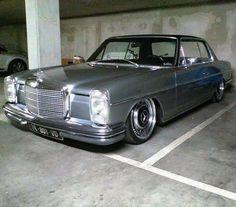 "1,118 Likes, 18 Comments - Joe Vargas (@varganator) on Instagram: ""Mercedes Benz W114 Coupe of @RomainClaIret #amazingcars247 #autocars #m3 #Germany #Brabus…"""
