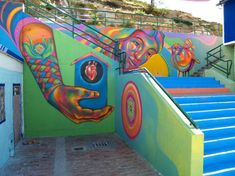 Guache street artiste, Bogota