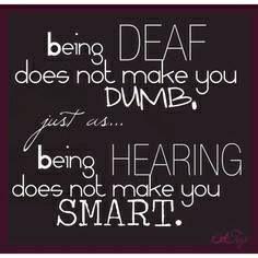 Deaf/Hearing