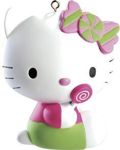 Carlton Heirloom Ornament - Hello Kitty with Lollipop