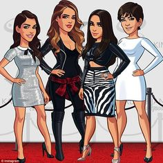 Kim Kardashian hollywood game play online |  Kourtney and Khloe join Kim Kardashian's hit Hollywood game ...